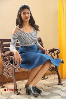 Telugu Actress Roshini Prakash Stills Short Dress at Saptagiri Express Release Press Meet  0193.JPG