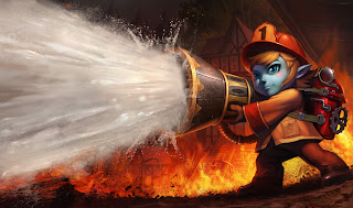 Chinese Firefighter Tristana Skin