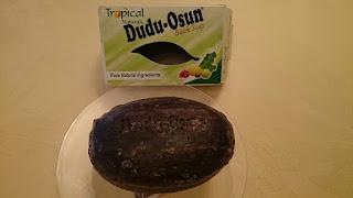 驚きの泡立ち!アフリカの天然ブラックソープ ドゥドゥ オスン