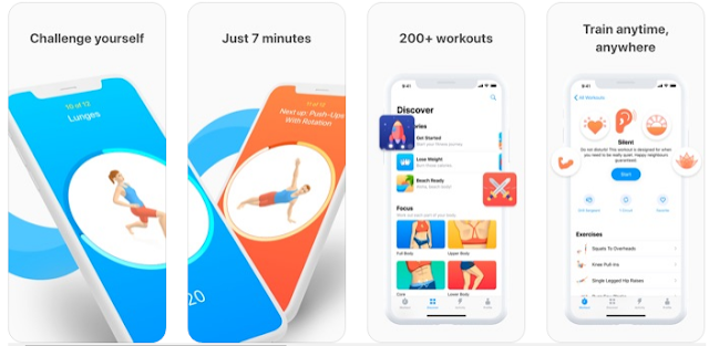تطبيق Seven – 7 Minute Workout