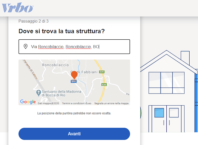 come registrarsi su homeaway