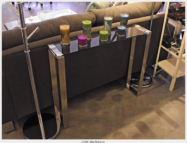 Inspiring Narrow Glass Console Table Pictures