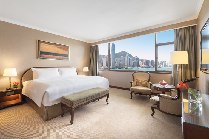 Marco Polo Hong Kong Hotel Deluxe Harbour View Room (King or Queen)