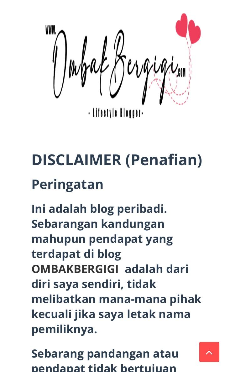 Penambahbaikkan Wajah Blog