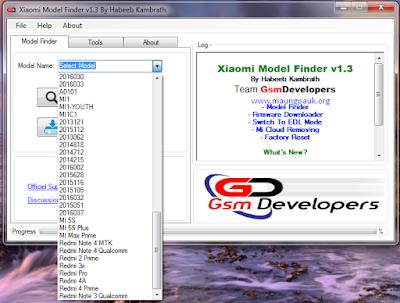 Xiaomi Model Finder v1.3