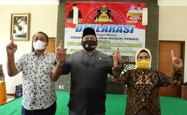 Dukung Tatu-Pandji, TB Masduki Ingatkan Pilkada Bukan untuk Coba-coba