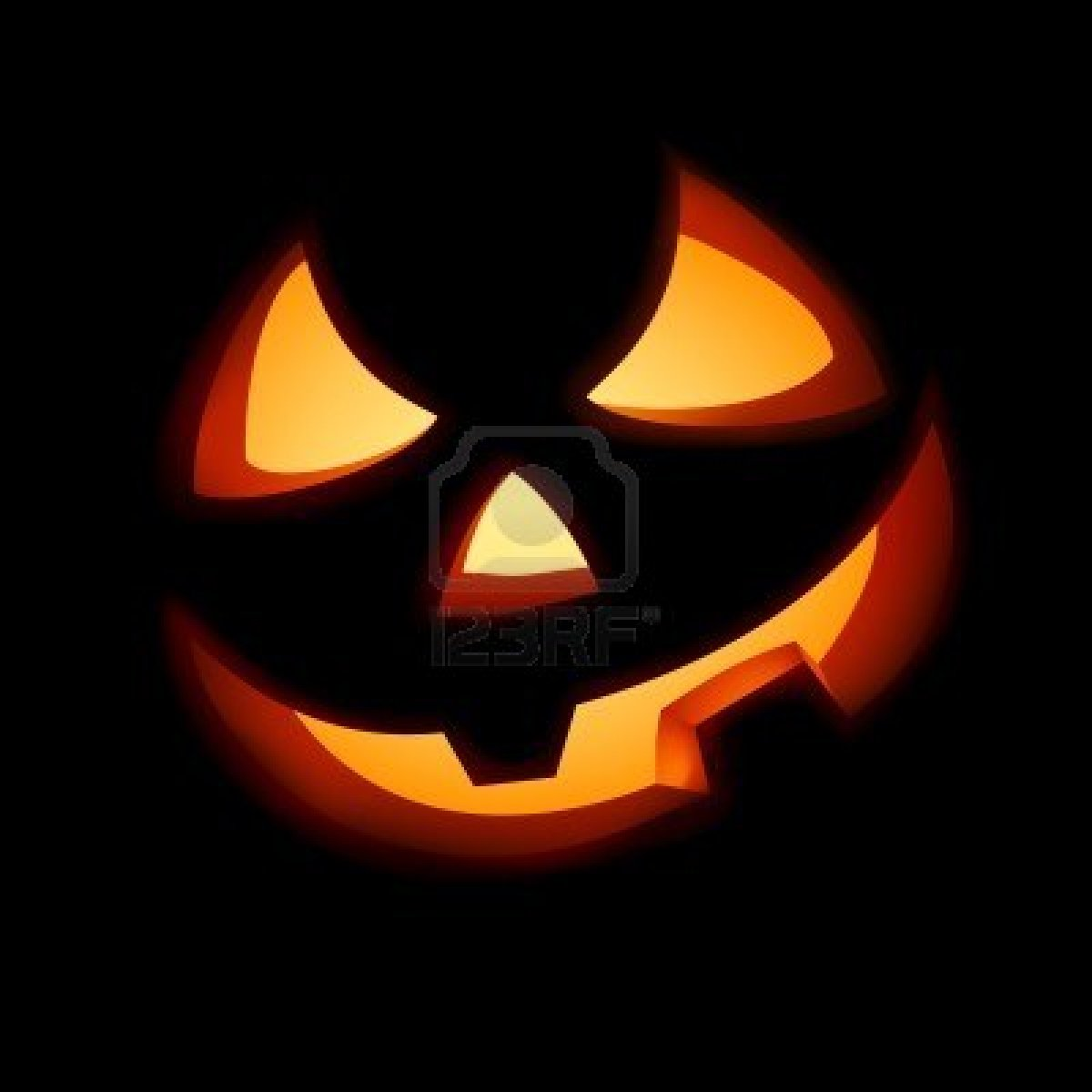 Jack O Lantern Pumpkin Stencil