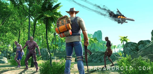 تحميل لعبة البقاء والاثارة Survivalist: invasion النسخة المهكرة للاجهزة الاندرويد
