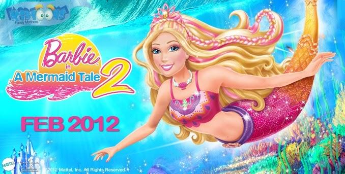 Barbie New Movies In Urdu: Watch Barbie In A Mermaid Tale 2 (2012) Movie Online For
