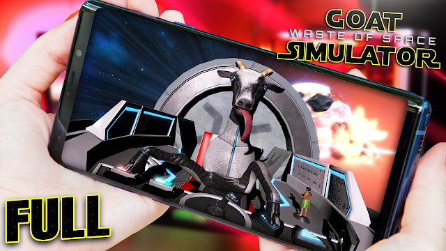 Goat Simulator: Waste of Space (FULL) v1.1.2 Para Teléfonos Android [Apk]