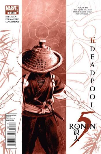 Historia donde Deadpool es un samurái