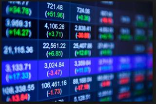 gambar layar harga saham