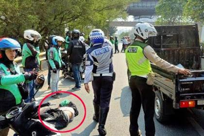 Truk Sampah DKI Tabrak Motor di Jalan Ahmad Yani Bekasi, Pengendara Ojol Tewas di Lokasi. Begini Kronologinya