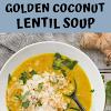 GOLDEN COCONUT LENTIL SOUP
