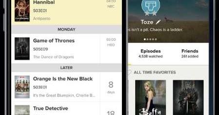 TVShow Time, app indispensabile per chi ama vedere tutte le migliori Serie TV, per Android e iPhone