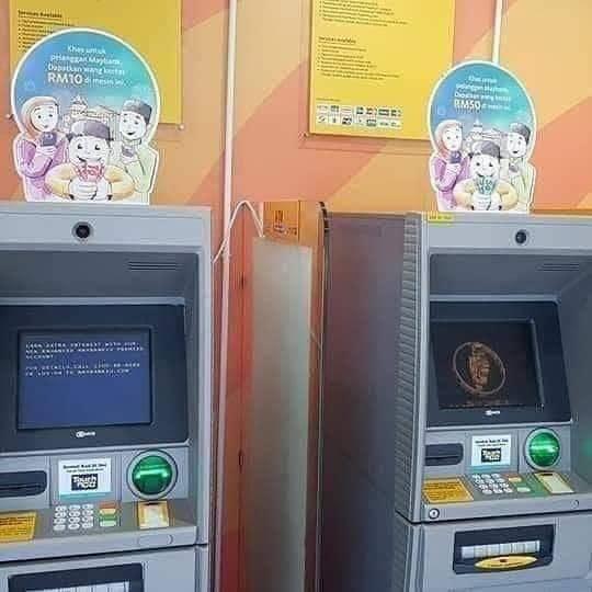 Cara Tukar Duit Raya Di Mesin ATM Maybank