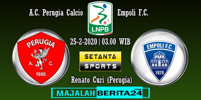 Prediksi Perugia vs Empoli