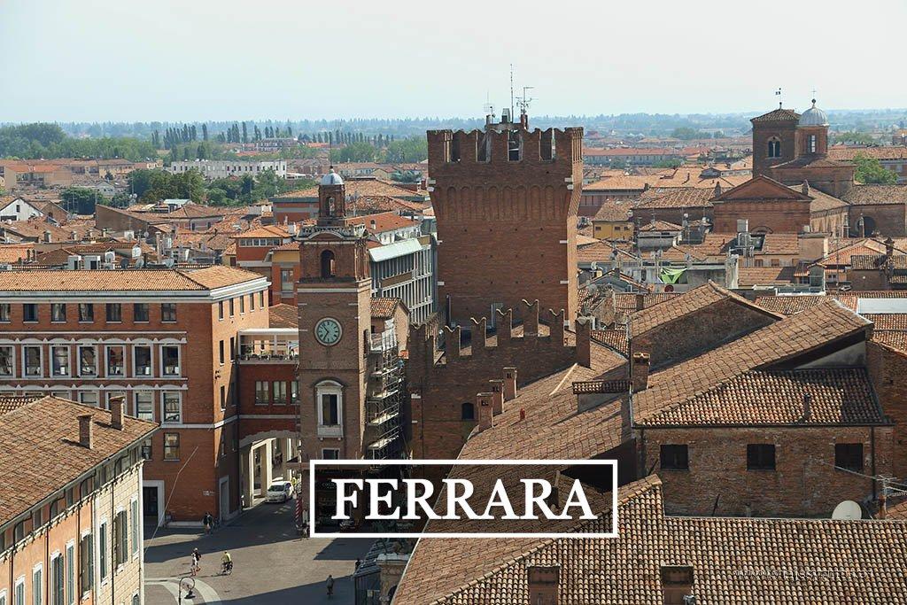 Ferrara, una visita imprescindible de la Emilia-Romagna