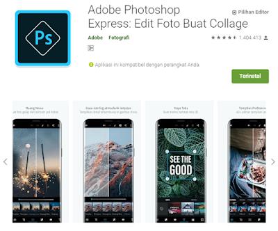 Aplikasi Edit Foto Gratis danTerbaru Di Android