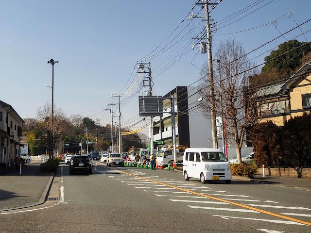 黒川から鶴川街道へ