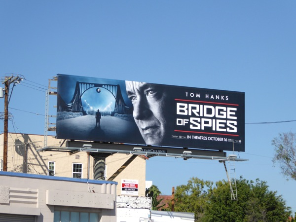 Bridge of Spies movie billboard