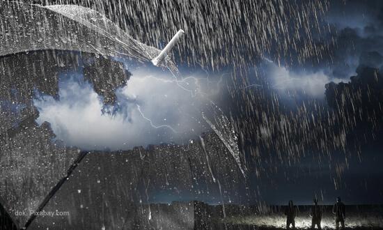 Prakiraan Cuaca Moga & Sekitarnya Hari Ini, Waspadai Hujan Lebat Disertai Petir
