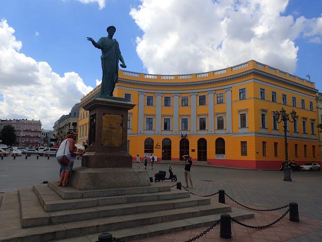 Pomnik księcia Richelieu w Odessie