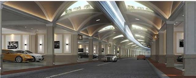 Hệ thống giao thông ngầm tại dự án Sunshine Residence Helios Shop Villas Ciputra Hà Nội vượt trội như thế nào?