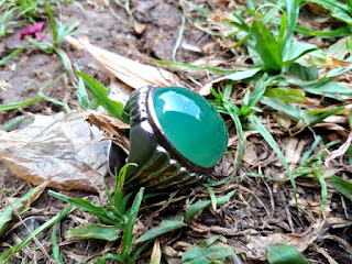 Batu Permata Hijau Garut Chrome Chalcedony GRT005 Big Size Mumbul Istimewa