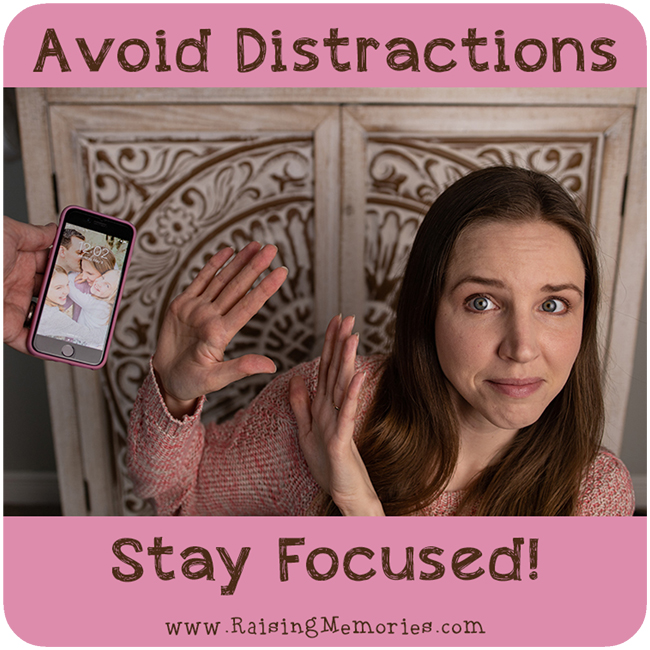 How to Avoid Distractions and Stay Focused