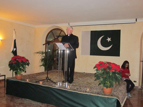 Bangor to Bobbio: Embassy of Pakistan in Rome celebrates