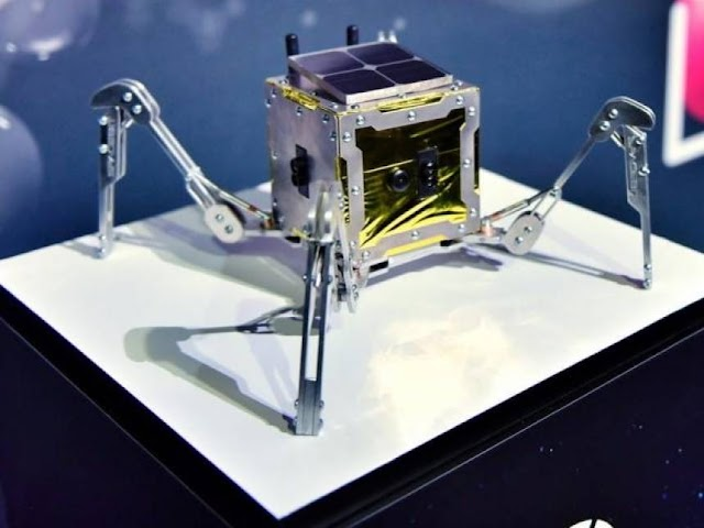 First robot with 'legs' goes to the moon in 202
