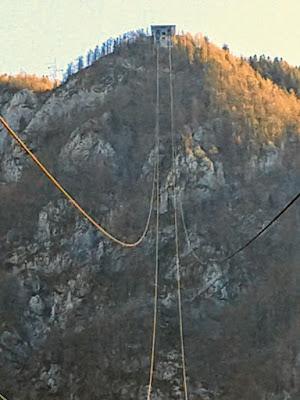 altes Stahldrahtseil Velika planina