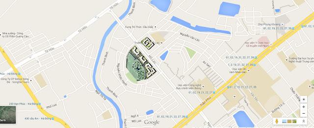 Vị trí đắc địa chung cư Booyoung Vina