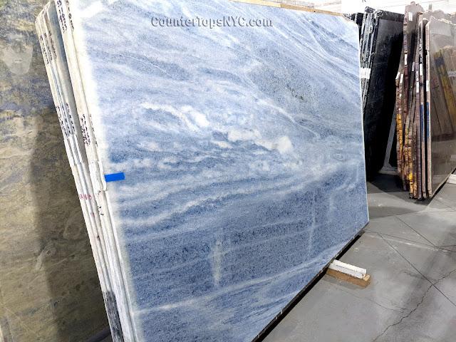 Azul Onda Marina Marble Slab NYC