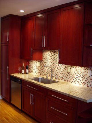 Modern Cabinet Design Cherry Kitchen Cabinets Pictures
