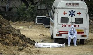 कोरोना से हाहाकार! 24 घंटे में कोविड-19 के 1,84,372 नये मामले, 1027 लोगों की मौत   #NayaSaberaNetwork