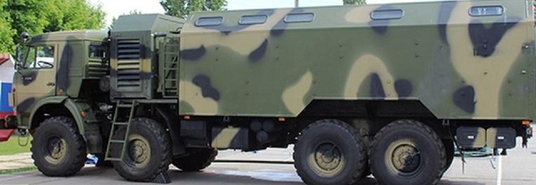 Російська армія отримала пересувні бані