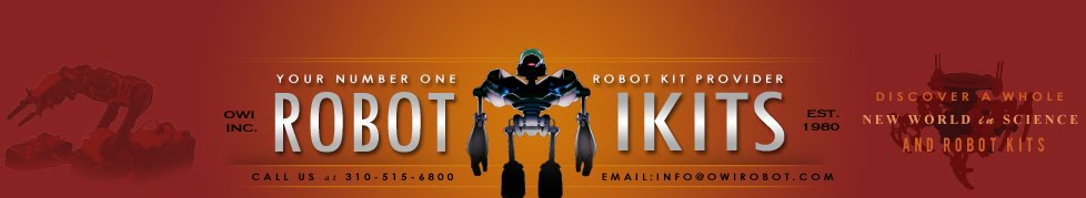 OWI Robot Blog: New OWI Educational RobotiKits™: Salt Water