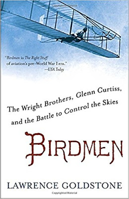 Birdmen by Lawrence Goldstone (book cover)