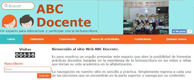 """Ir al sitio web """"ABC Docente"""""""