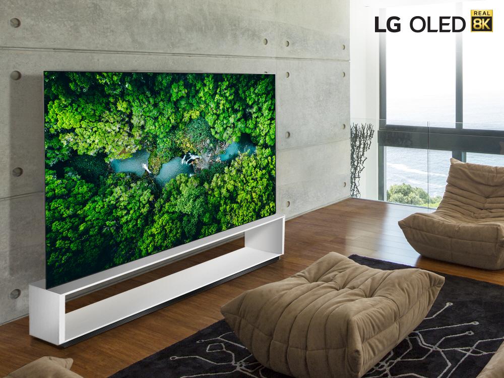 LG develó su línea de TV real 8K 2020 con procesador AI de nueva generación