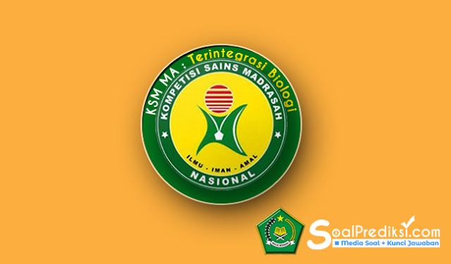 Latihan Soal dan Kunci Jawaban KSM Biologi MA 2019, Baru!