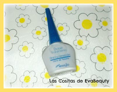 base tratamiento anti escamación masglo uñas nails nailart