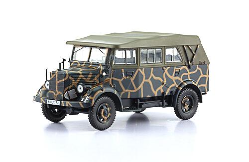 L1500 A KFZ. 70 1:43, voitures militaires de la seconde guerre mondiale