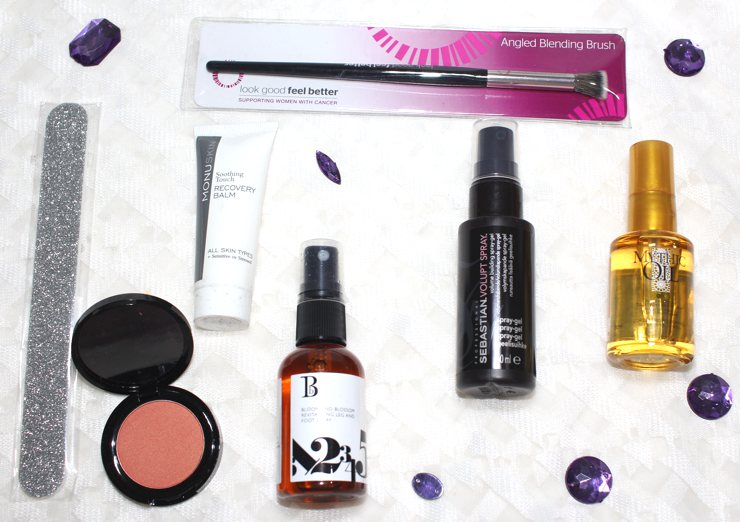 LookFantastic Beauty Box November 2016 unboxing, review, contents.