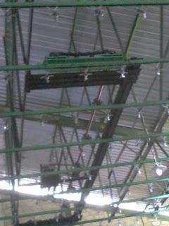 Kontruksi baja berat WF dan CNP untuk pabrik