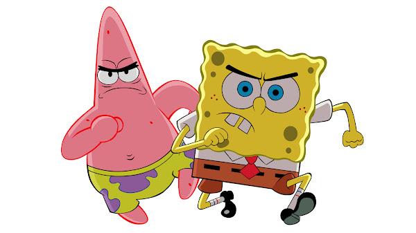 wallpaper keren spongebob