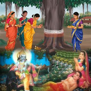 vat-savitri-2019-mahatv-shubh-muhurat-poojan-vidhi-poojan-samagri-