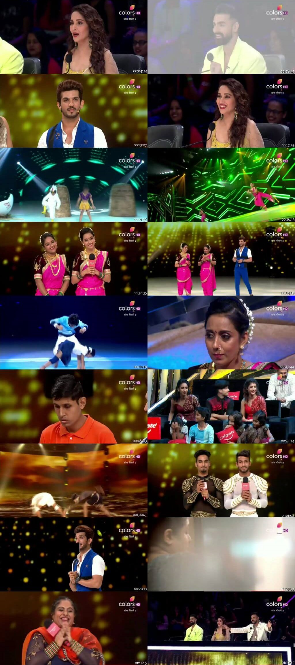 Screenshots Of Hindi Show Dance Deewane 2 18th August 2019 Episode 20 300MB 480P HD